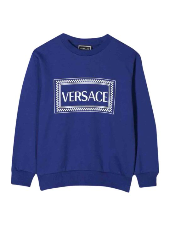 Young Versace Printed Sweatshirt