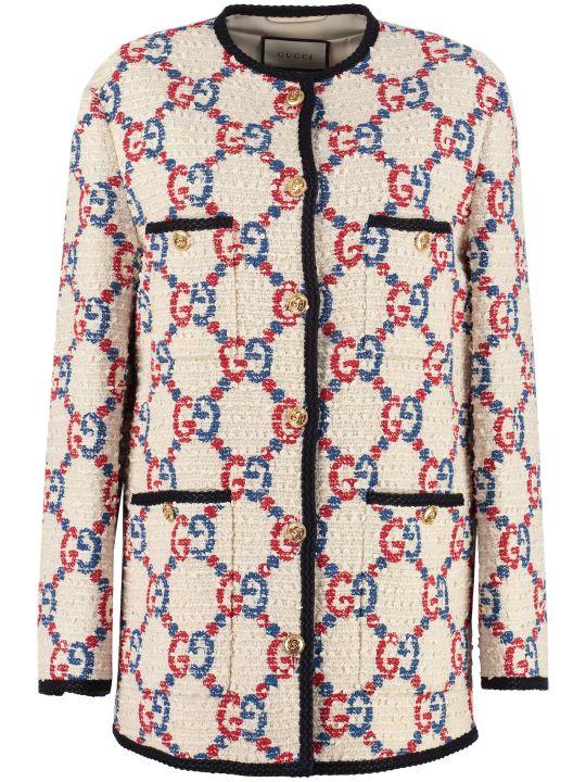 Gucci Sylvie Tweed Jacket
