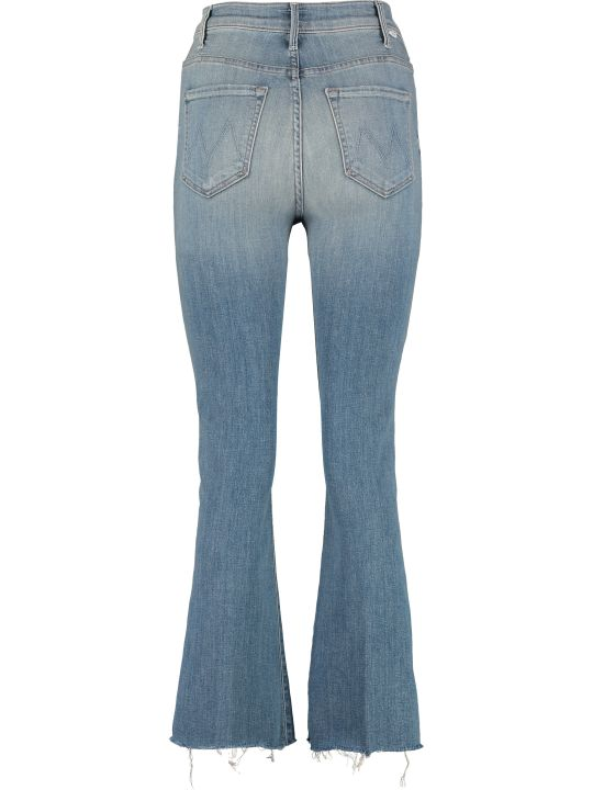 Mother The Ustler Ankle Fray Jeans