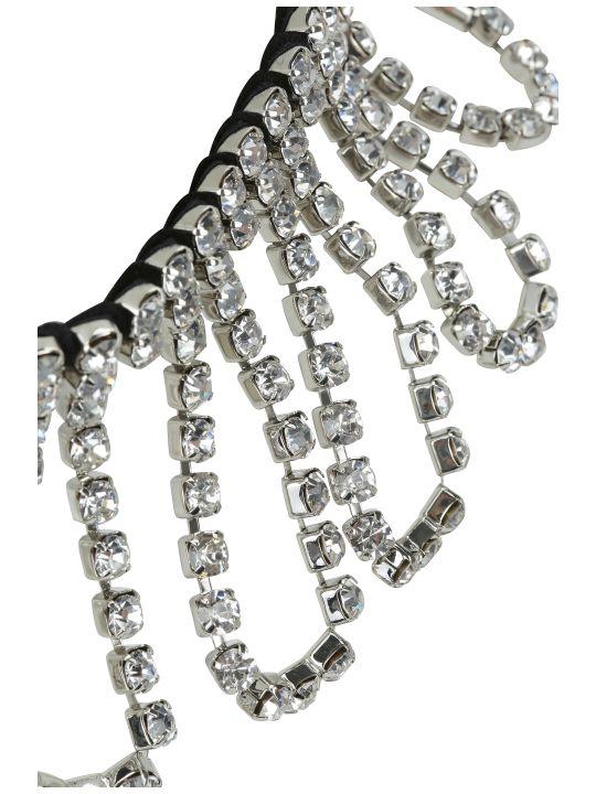 AREA Crystal Loop Fringe Choker