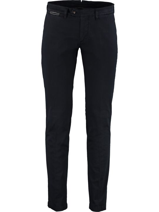Eleventy Stretch Cotton Trousers