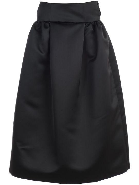 Emporio Armani Skirt Long W/satin On Waist