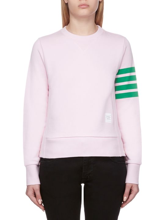 Thom Browne Striped Trim Sweatshirt