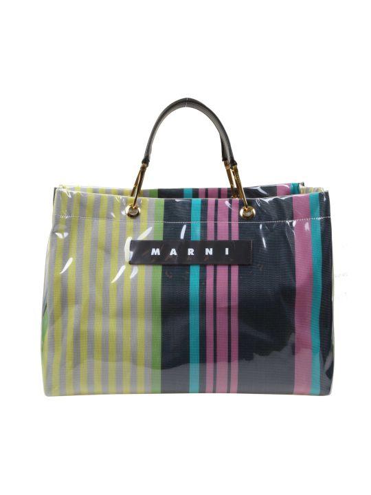 Marni Shopping Glossy Grip Multi-colored Polyamide