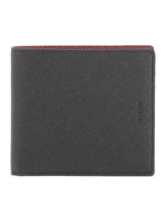 Bally Pebble Leather Wallet