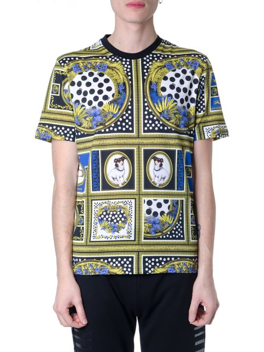 Versus Versace Multicolored Versace Cotton Print T-shirt