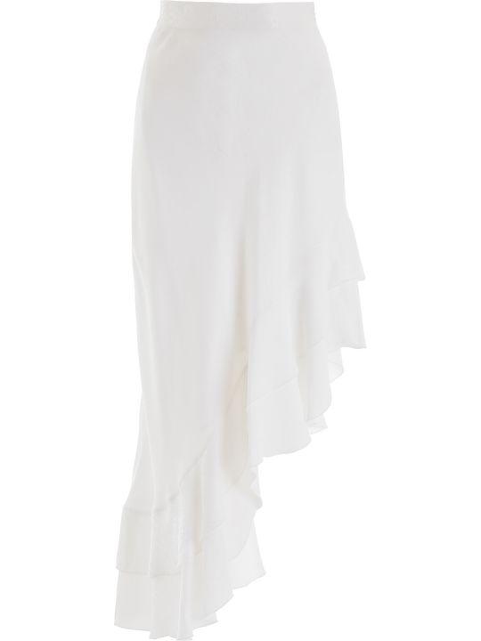 WANDERING Godet Midi Skirt