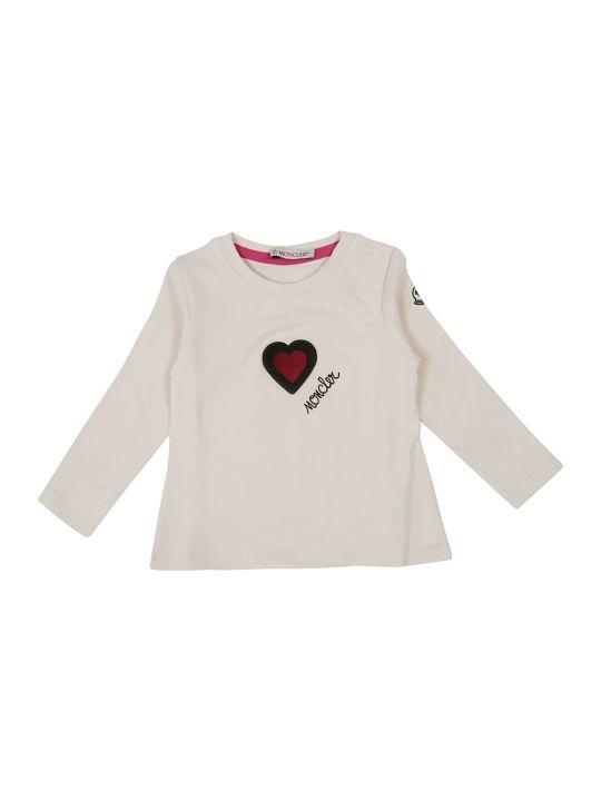 Moncler Heart Long Sleeve T-shirt