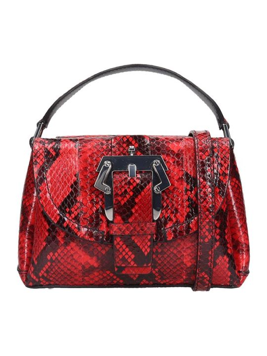 Paula Cademartori Amelie Small Shoulder Bag In Red Leather