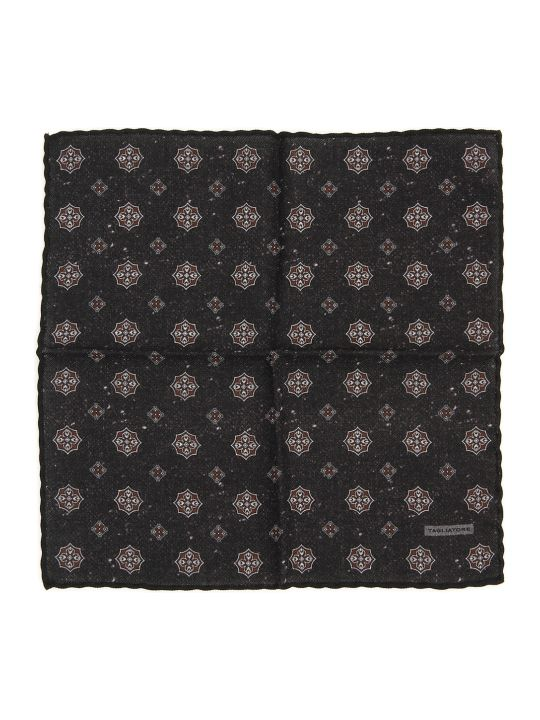 Tagliatore Wool Pocket Square