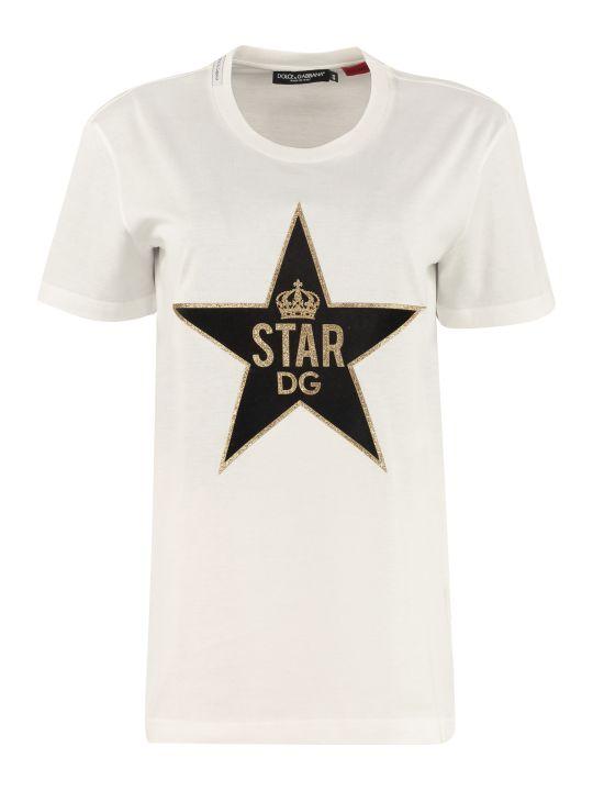 Dolce & Gabbana Oversize Cotton T-shirt