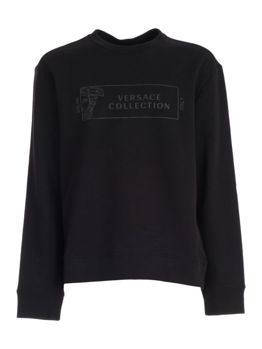 Versace Collection Sweatshirt Crew Neck W/logo