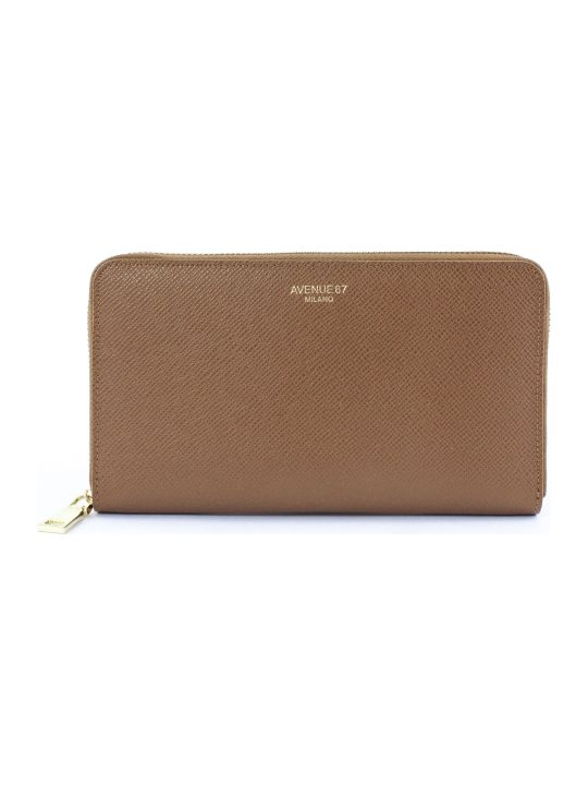 Avenue 67 Brown Leather Wallet
