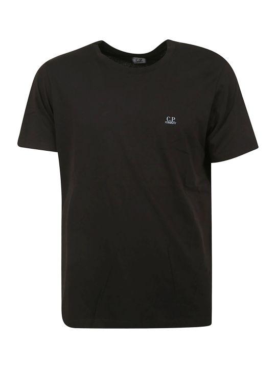 C.P. Company Small Chest Logo Print T-shirt