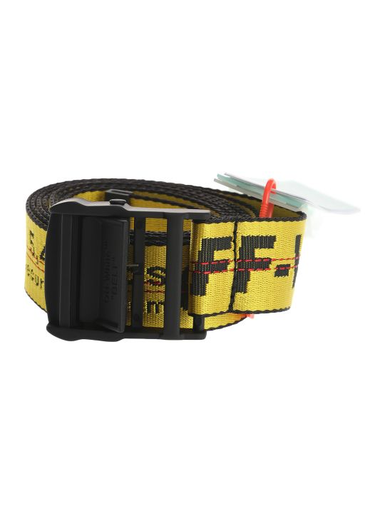 Off-White Off White Industrial Logo Belt