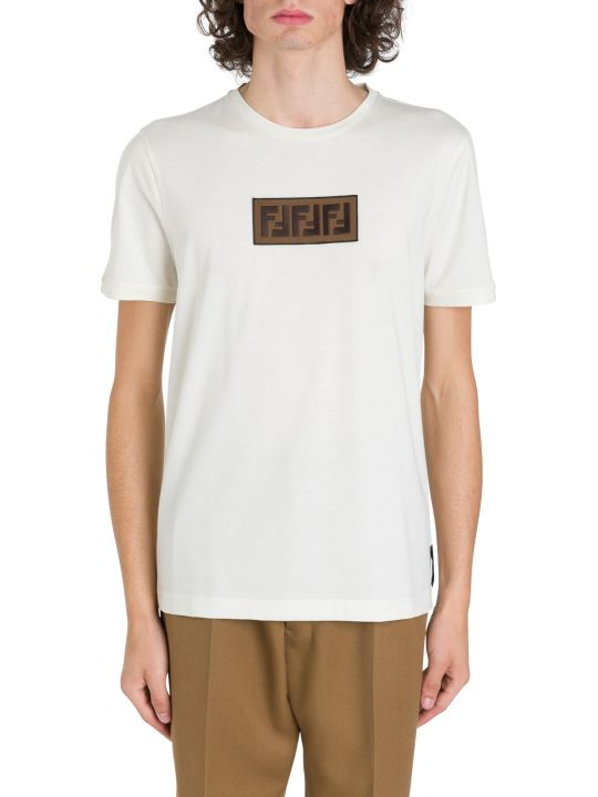 Fendi T-shirt With Ff Patch