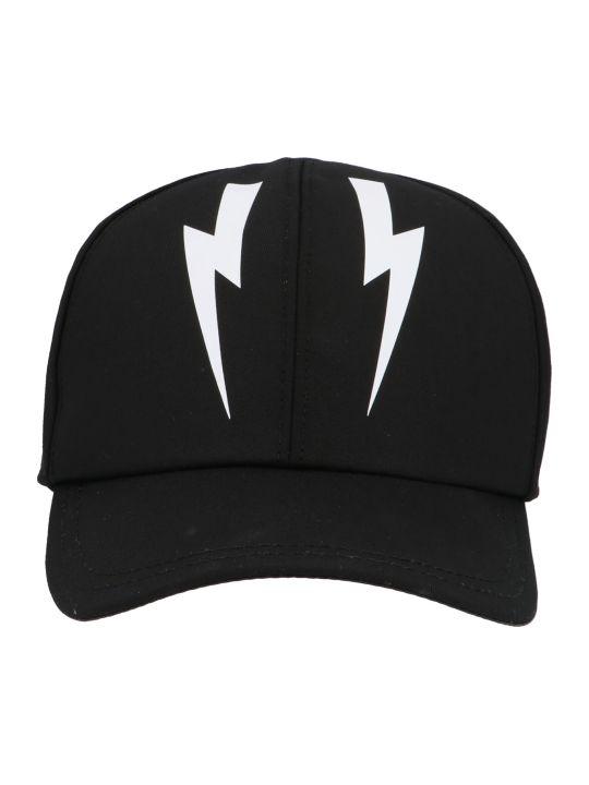 Neil Barrett 'mirror Bolt' Cap