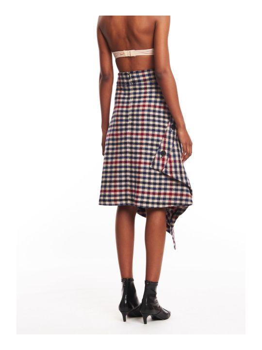 J.W. Anderson Wrap Blanket Skirt