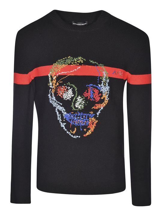 Alexander McQueen Skull Sweater