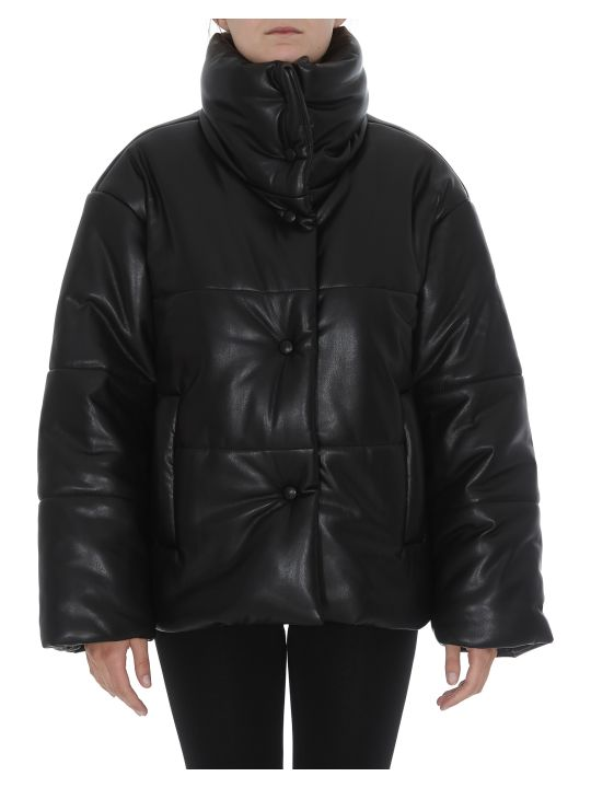 Nanushka Eco Leather Down Jacket