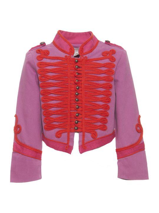 Stella McCartney Purple Jacket W/red Details