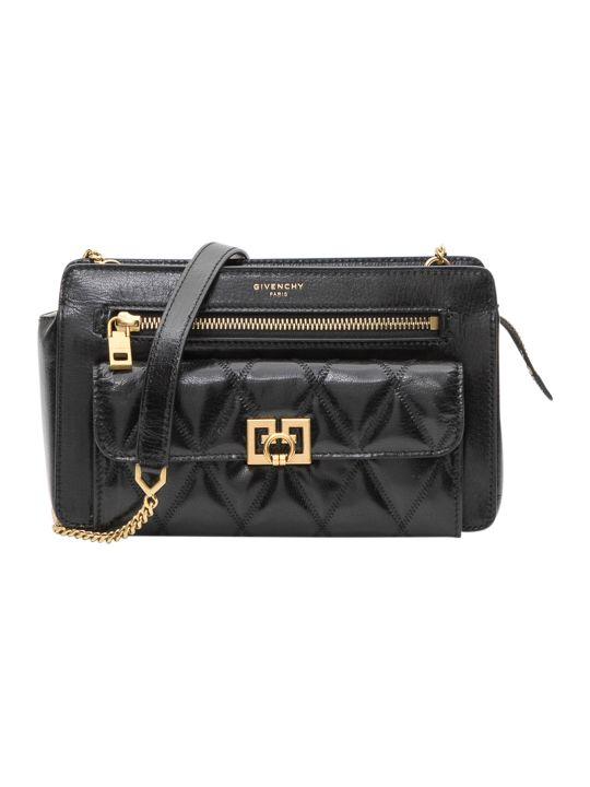 Givenchy Pocket Matelassé Leather Bag