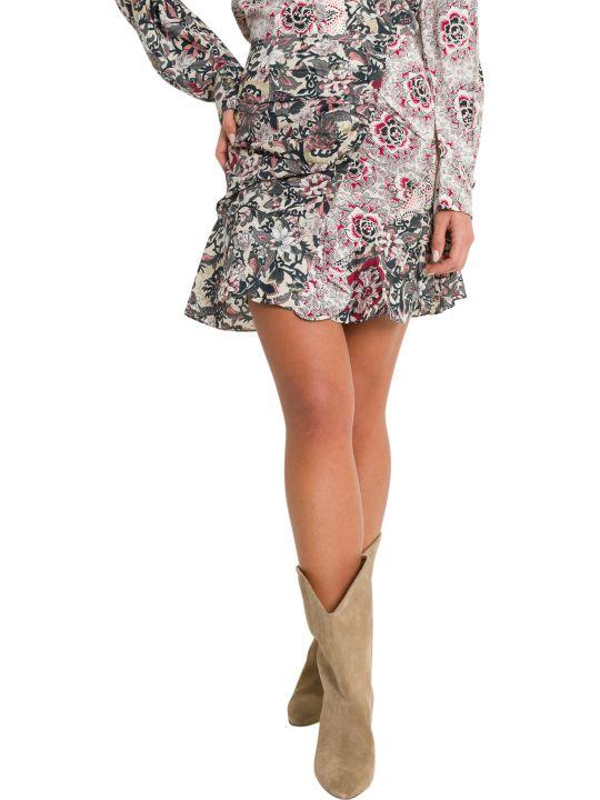 Isabel Marant Étoile Loz Patchwork Printed Skirt