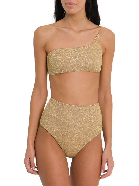 Oseree Lumiere One Shoulder High Waisted Bikini