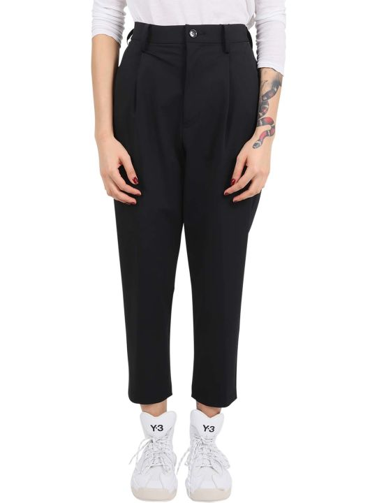 Zucca X Carvico Black Trousers