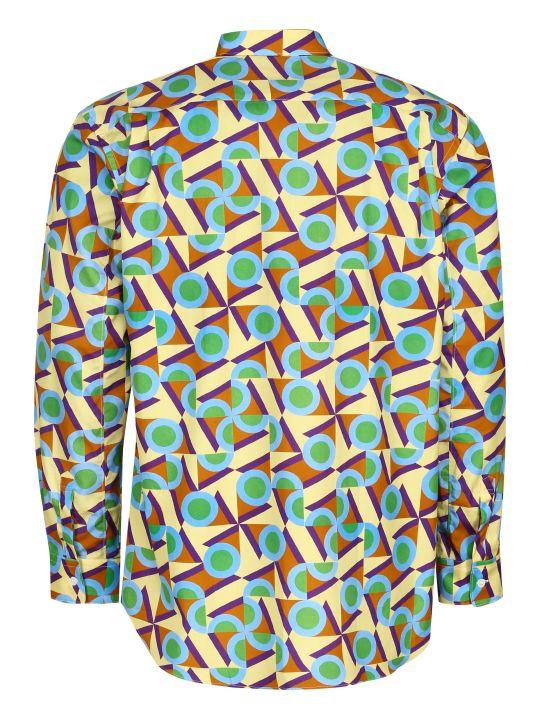 Comme des Garçons Shirt Printed Cotton Shirt