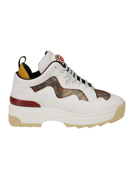 Fendi Logo Sneakers