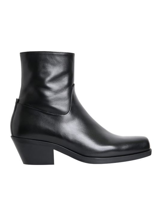 MISBHV Iggy Leather Ankle Boots