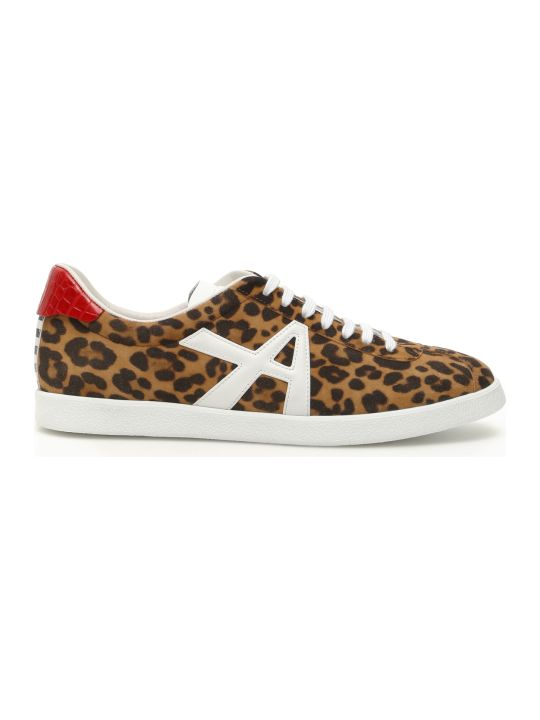 Aquazzura Jaguar Suede Sneakers