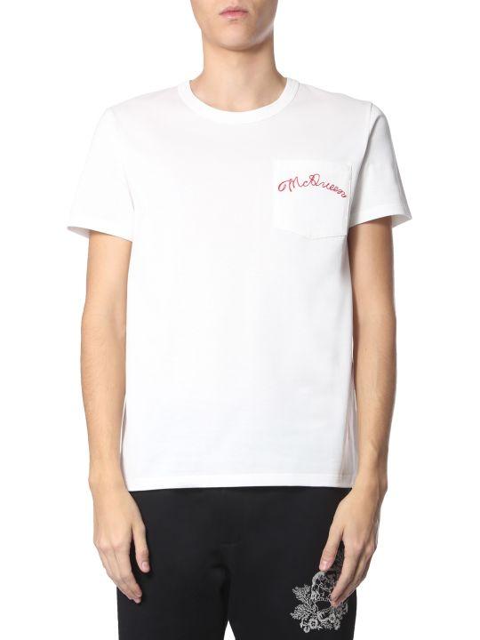 Alexander McQueen Round Neck T-shirt