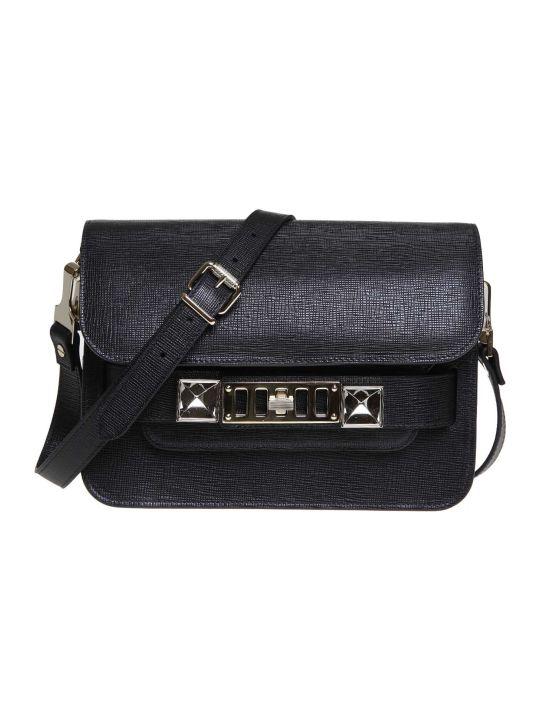 Proenza Schouler Proenza Shoulder Bag Ps11 Mini In Black Leather