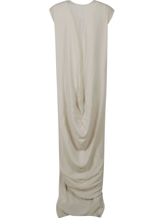 Rick Owens V-neck Long Dress