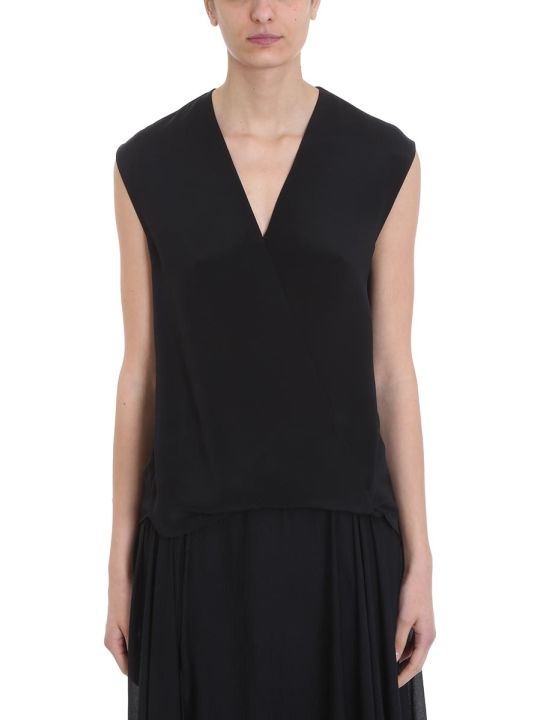 3.1 Phillip Lim Black Silk Topwear