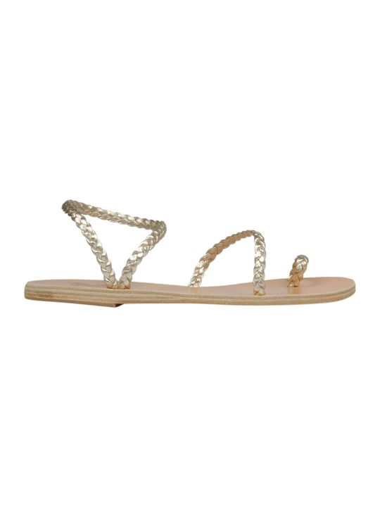 Ancient Greek Sandals Braided Flat Sandals
