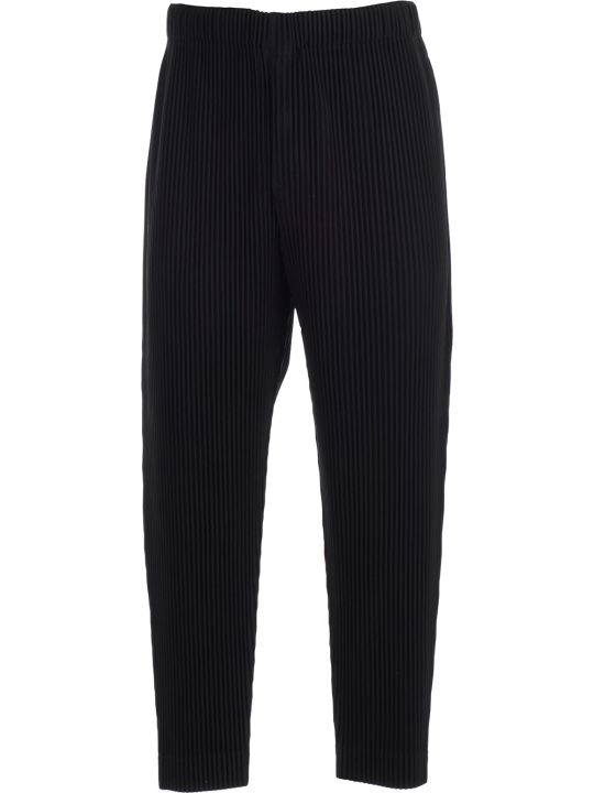 Pleats Please Issey Miyake Pleats Please By Issey Miyake Tapered Plissé Trousers