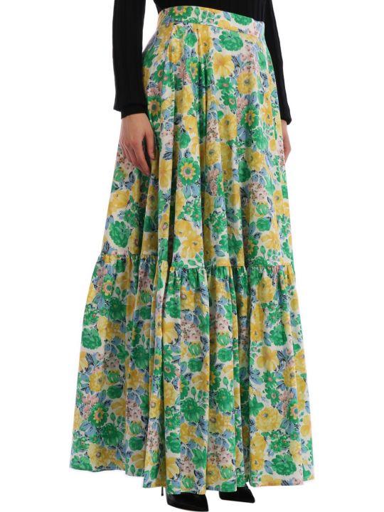 Plan C Floral Skirt