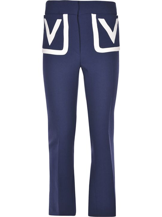 Valentino V Detailed Trousers