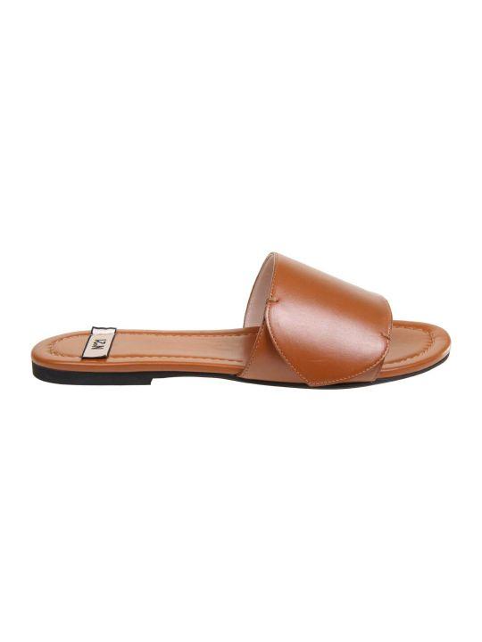 N.21 N ° 21 Leather Color Sandal