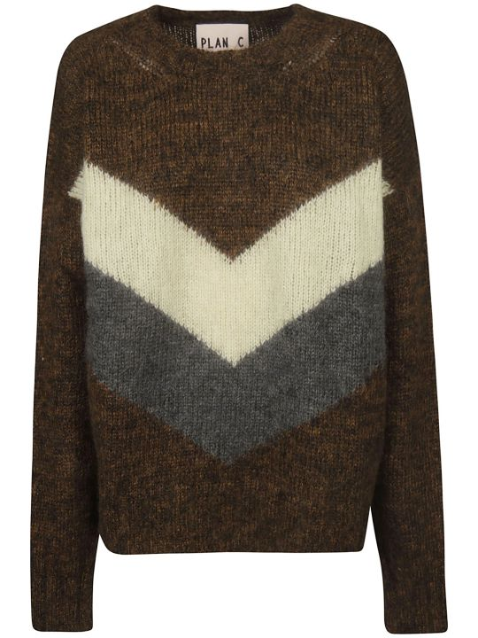 Plan C Knitted Sweater