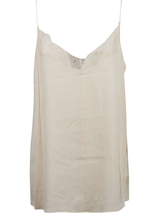 Calvin Klein Top Tank Ns Lace Trim
