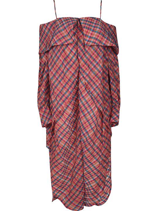 Eckhaus Latta Checked Dress