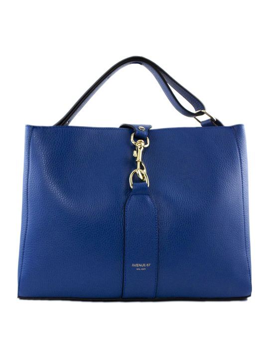 Avenue 67 Annetta Blue Leather Bag