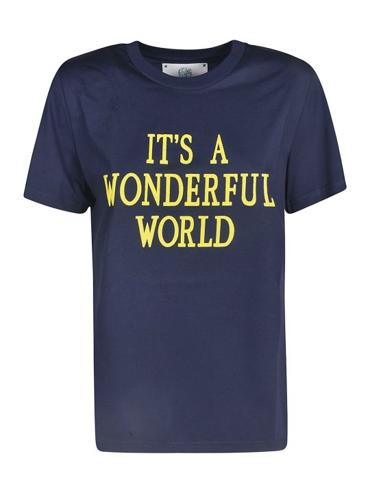 Alberta Ferretti Short Sleeve T-shirt