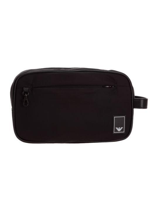 Emporio Armani Pictorial Wings Toiletry Bag