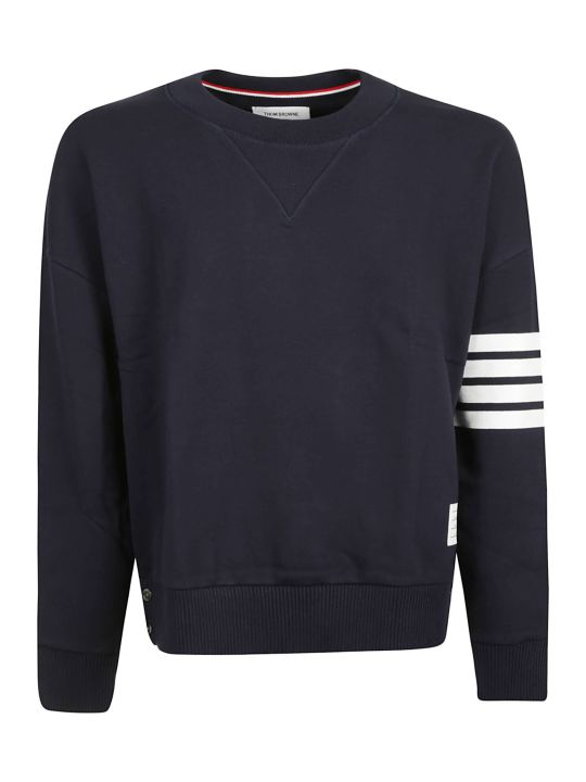 Thom Browne 4-bar Oversized Sweatshirt