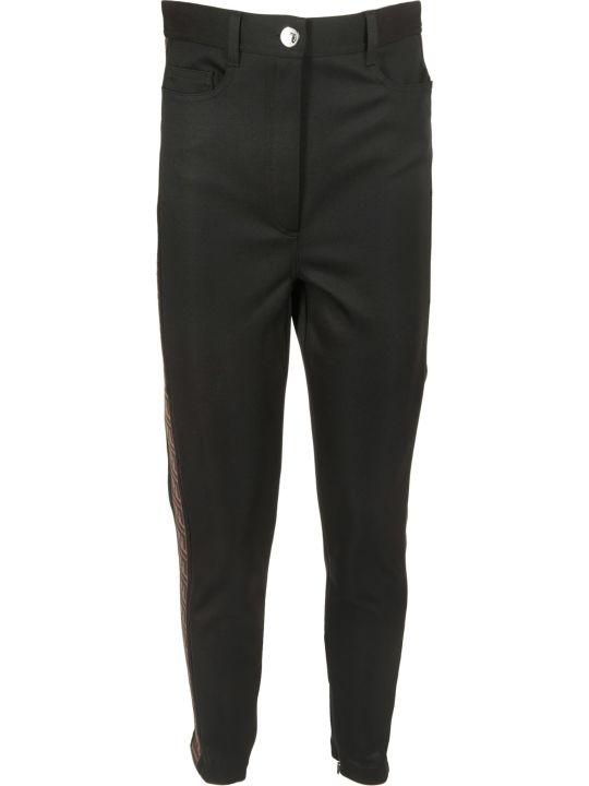 Fendi Ff Logo Tape Trousers
